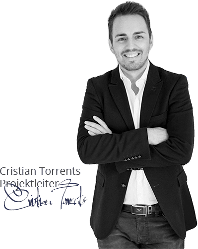 Projektleiter Cristian Torrents