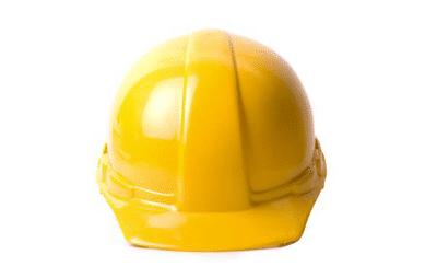 Schutzhelm für Projektleiter