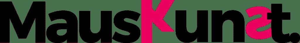 Mauskunst Logo - XL - Dark