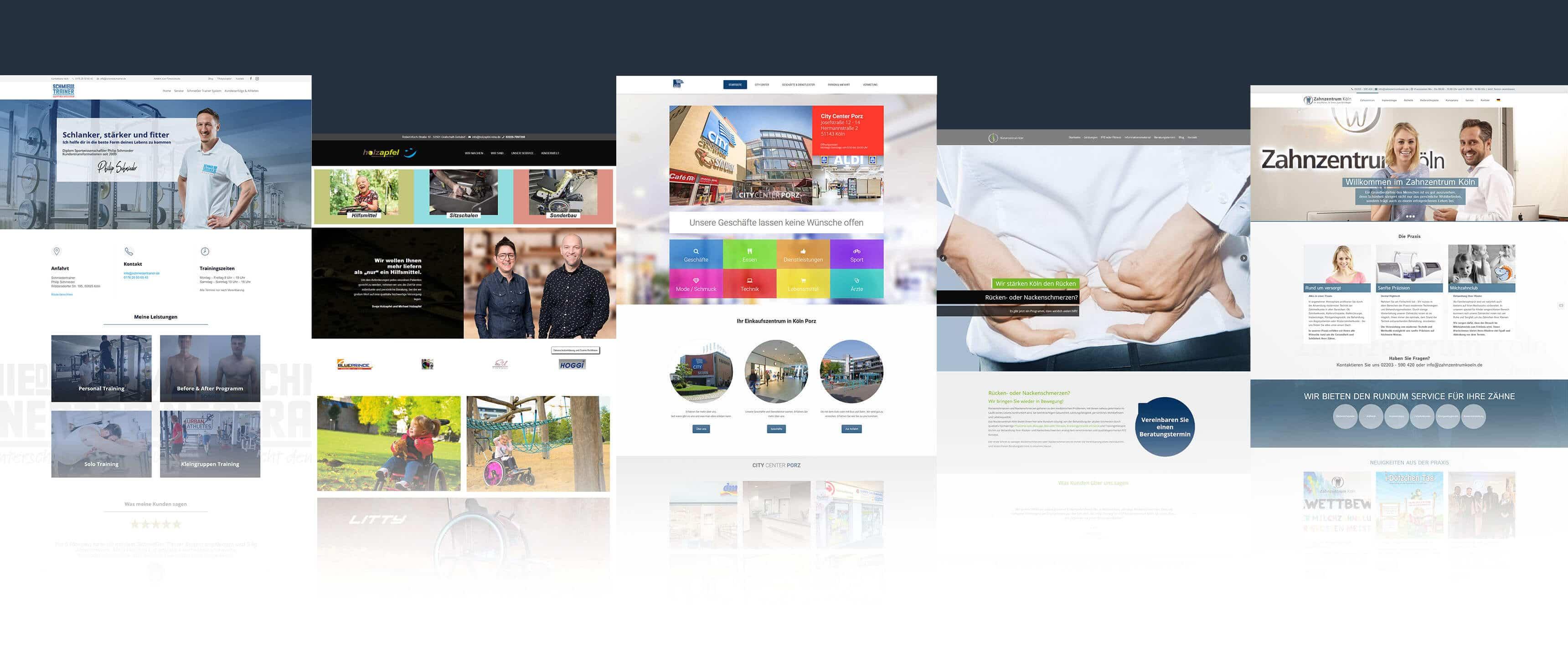 Bild mit Website Beispiele - Referenzen der Agentur